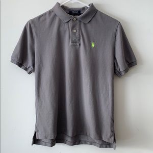 Polo by Ralph Lauren Grey Polo Shirt